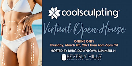 BHRC Downtown Summerlin Virtual CoolSculpting Open House tickets