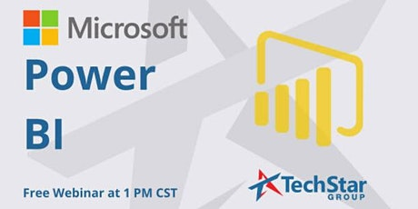 Webinar: Microsoft Power BI Webinar billets