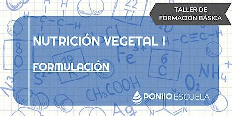 Nutrición Vegetal I entradas