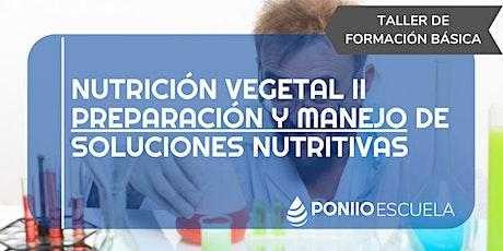 Nutrición Vegetal II entradas
