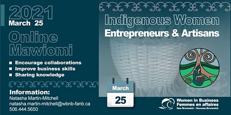 WBNB Online Mawiomi for Indigenous Women Entrepreneurs tickets