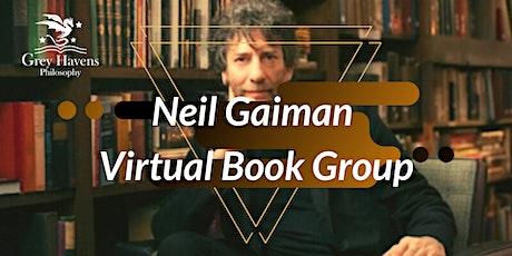 Neil Gaiman Virtual Book Group biglietti