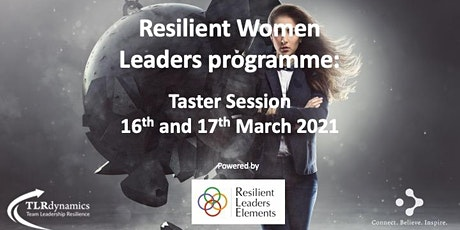 Resilient Women Leaders programme: Taster Session tickets