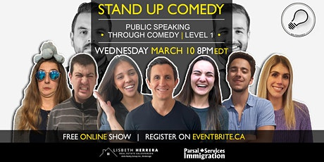 Public Speaking Through Comedy Workshop | Online Grad Show tickets