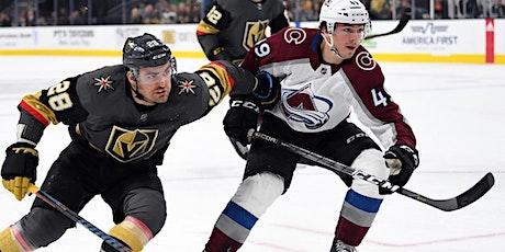 LIVE@!.MaTch   Vegas Golden Knights v. Colorado Avalanche LIVE ON NHL 2021 tickets
