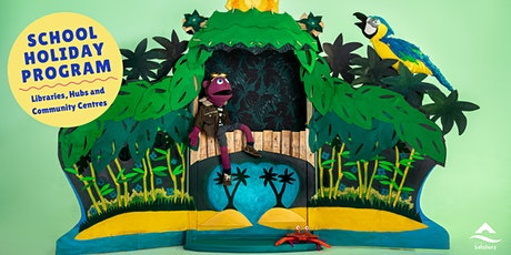 School Holiday Program:  Pico and the Golden Lagoon Puppet Show tickets