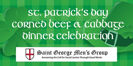 St. Patrick's Day Corned Beef & Cabbage Dinner Celebration (Drive-Thru) tickets