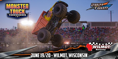 Monster Truck Throwdown - Wilmot, WI - June 19/20, 2021 tickets