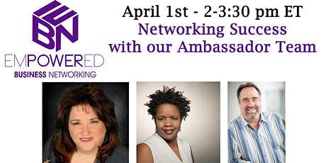 4.1.21 EBN Networking & Training Meeting tickets