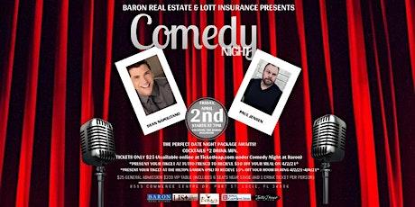 Comedy Night at Baron tickets
