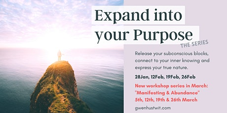 Expand into your Purpose with Gwen tickets