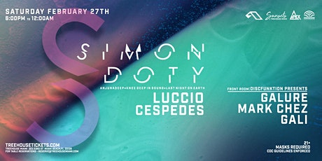 Sunsets @ Treehouse Miami w/ Simon Doty tickets