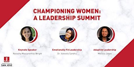 Championing Women: A Leadership Summit tickets