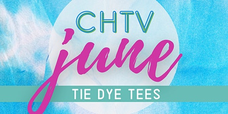 Craft Happy TV Tie Dye Virtual Workshop with Craft Happy tickets