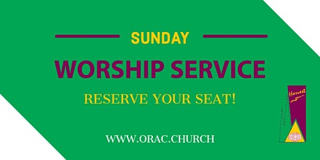 Sunday Worship Service - March 7th tickets