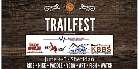 SCLT Trailfest 2021 presented by Big Horn Mountain Radio Network tickets