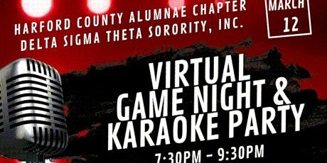 Virtual Game Night & Karaoke Party tickets