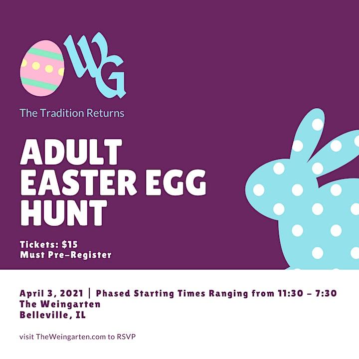 Adult Easter Egg Hunt 2021 image