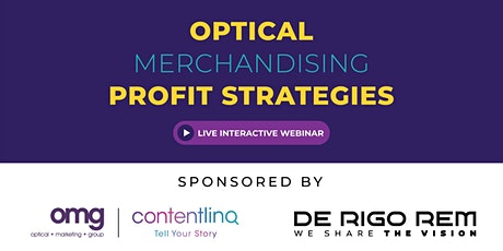 Optical Merchandising Profit Strategies ingressos