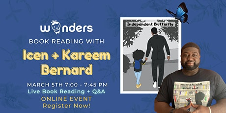 Book Reading w/the author - Icen and Kareem Bernard 3/5/21 tickets