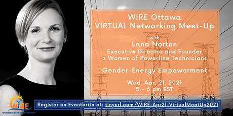 Virtual Networking Meet-Up with WiRE Ottawa tickets