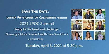 2021 Summit:  Growing a More Diverse Health Care Workforce bilhetes