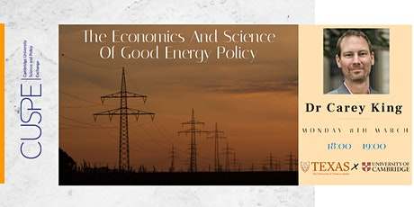 The economics and science of good energy policy tickets