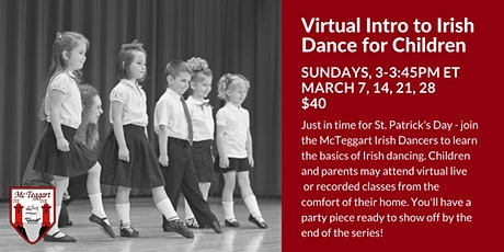 Virtual Intro to Irish Dance for Children tickets