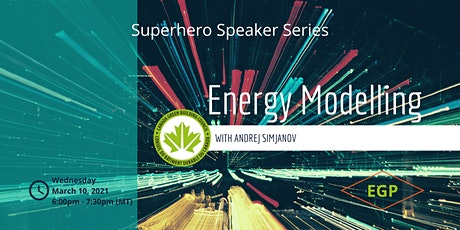 Energy Modelling with Andrej Simjanov tickets