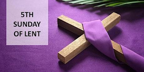 Mass on Sunday, 21st March 2021 (9.00am) tickets