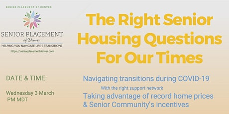 Realtors and Seniors - Today's New Opportunities - tickets