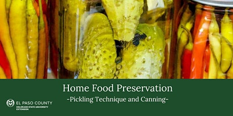 Home Food Preservation: Pickling Technique Class tickets