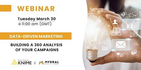 Data-driven marketing : building a 360 analysis of your campaigns tickets