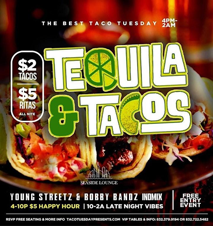 $2 TACOS | $5 RITAS | $200 BOTTLE SPECIALS ALL NIGHT image