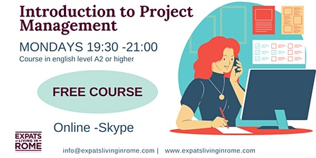 Introduction to Project Management | Free tickets