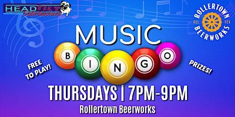 Music Bingo at Rollertown Beerworks! tickets