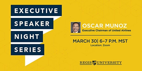 Regis University Executive Speaker Night Series tickets
