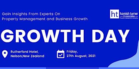 HTA - Growth Day tickets