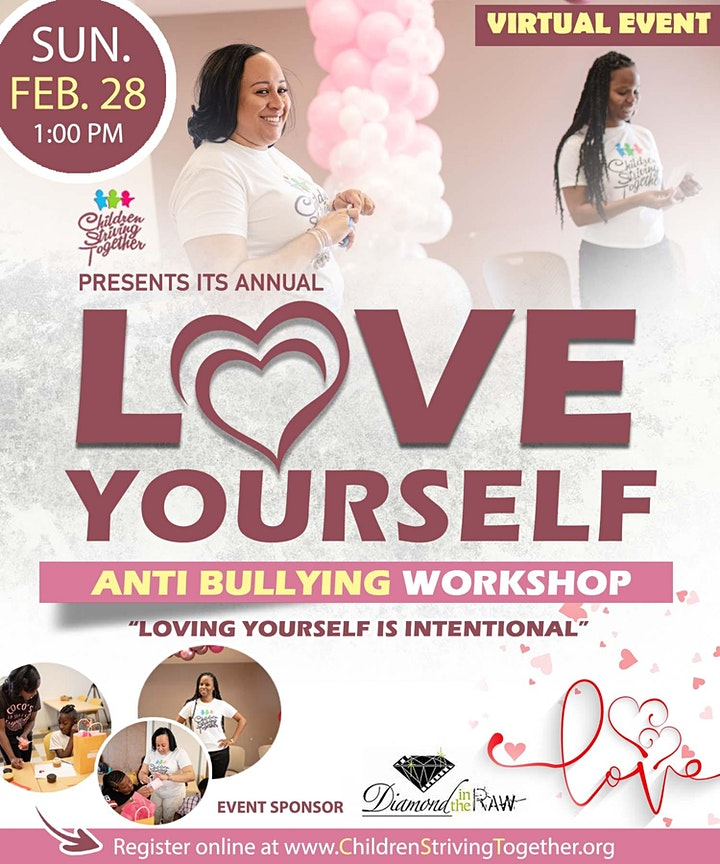 Annual Love Yourself Anti-Bullying Workshop image