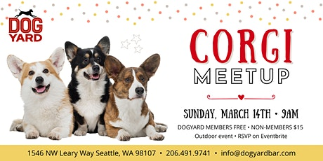 Corgi Meetup at the Dog Yard tickets