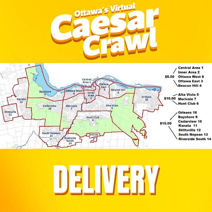 National Caesar Day 2021   OTTAWA'S VIRTUAL CAESAR CRAWL image