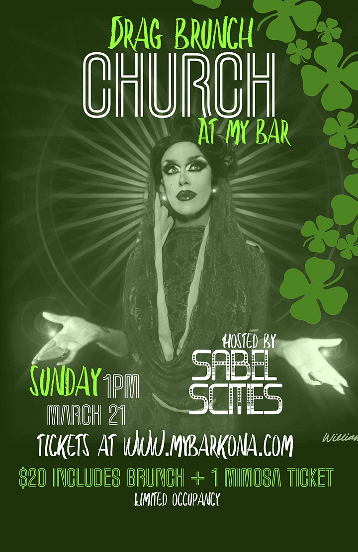"""DRAG BRUNCH """"CHURCH"""" with Sabel Scities image"""