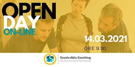 Open Day Scuola Abla Coaching biglietti