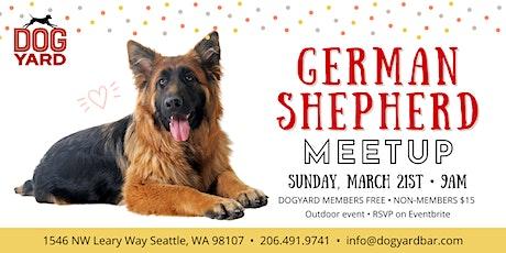 German Shepherd Meetup at the Dog Yard tickets