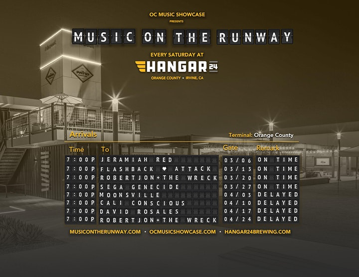 Music on the Runway Concert Series at Hangar 24  - VIP TABLE RESERVATION image