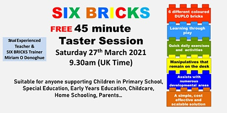 FREE TASTER SESSION - SIX BRICKS tickets
