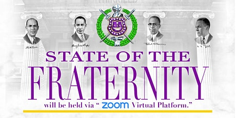 2021 State of The Fraternity tickets