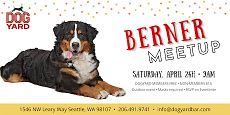 Bernese Meetup at the Dog Yard tickets