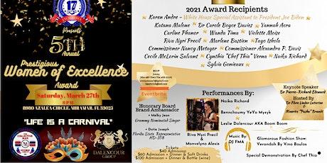 Prestigious Women Of Excellence Award tickets
