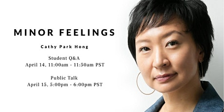 "Cathy Park Hong, Memoirist, ""Minor Feelings"" Tickets"